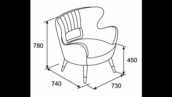 Кресло Гудзон-3